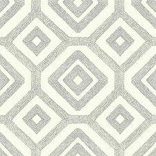 Cream/Taupe Geometrics Wallcovering by York
