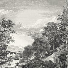 MU0270M Provincial Scenic Mural by York