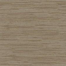 Brown/Tan/Metallic Silver Faux Grasscloth Wallcovering by York