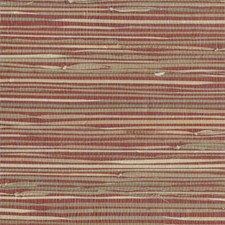 Reds Grasscloth Wallcovering by York