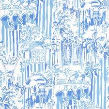 Beach Blue Print Wallcovering by Lee Jofa Wallpaper