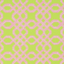 Pink/Green Print Wallcovering by Lee Jofa Wallpaper
