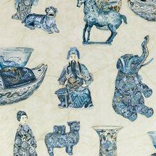 Porcelain Animal Wallcovering by Lee Jofa Wallpaper