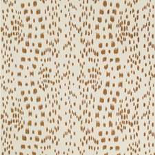 Tan Animal Wallcovering by Brunschwig & Fils