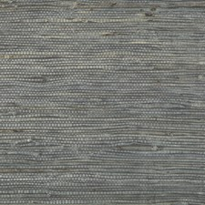 Charcoal Wallcovering by Brunschwig & Fils
