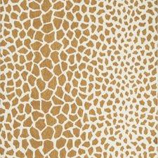 Tan Animal Wallcovering by Brunschwig & Fils