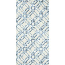 Sky Lattice Wallcovering by Brunschwig & Fils