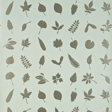 Aqua/Silver Wallcovering by Baker Lifestyle Wallpaper