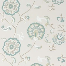 Aqua Wallcovering by Baker Lifestyle Wallpaper
