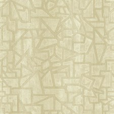 Cream/Beige/Pearl Geometrics Wallcovering by York