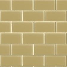 Amber/Beige Tile Wallcovering by York