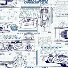RMK11803WP Disney and Pixar Cars Schematic by York