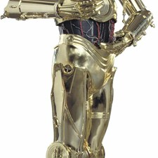 RMK1591GM Star Wars Classics C3PO Giant Wall Decal by York