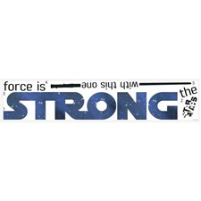 RMK3077SCS Star Wars Strong Quote Decals by York