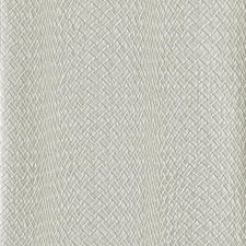 Metallic Silver Stripes Wallcovering by York