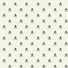 White/Black Children Wallcovering by York