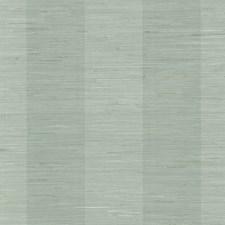 Aqua Stripe Wallcovering by Brewster