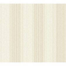 Beige/Cream Pinstripes Wallcovering by York