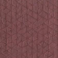 Deep Red Geometrics Wallcovering by York