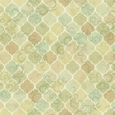 Grey/Green/Tan Bricks Wallcovering by York