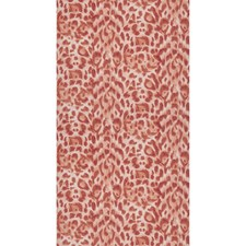 Red/Rose Gold Animal Skins Wallcovering by Clarke & Clarke