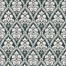 Black/Beige Damask Wallcovering by Kravet Wallpaper