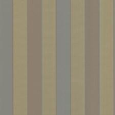 Green/Brown/Light Green Stripes Wallcovering by Kravet Wallpaper