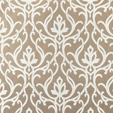 Taupe/Ivory Damask Wallcovering by Kravet Wallpaper