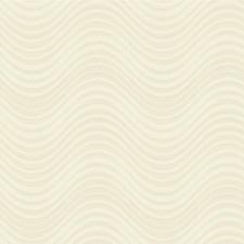 Ivory/Beige/Metallic Modern Wallcovering by Kravet Wallpaper