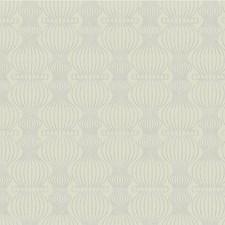 Light Grey/Silver Modern Wallcovering by Kravet Wallpaper