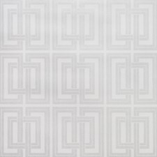 Silver/Metallic/Ivory Geometric Wallcovering by Kravet Wallpaper