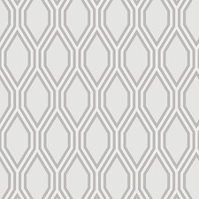 Light Grey/Grey/Metallic Modern Wallcovering by Kravet Wallpaper