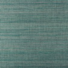Turquoise/Teal Solid Wallcovering by Kravet Wallpaper