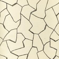Ivory/Black Modern Wallcovering by Kravet Wallpaper