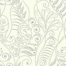 White/Silver/Metallic Metallic Wallcovering by Kravet Wallpaper