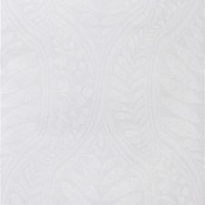 Light Grey/White Botanical Wallcovering by Kravet Wallpaper