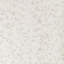 White/Grey/Spa Botanical Wallcovering by Kravet Wallpaper