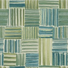 Sage/Blue Abstract Wallcovering by Kravet Wallpaper