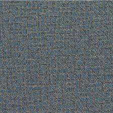 Indigo Geometric Wallcovering by Winfield Thybony
