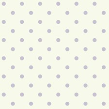 White/Light Purple Geometrics Wallcovering by York