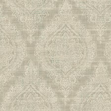 Silver Wallcovering by Scalamandre Wallpaper