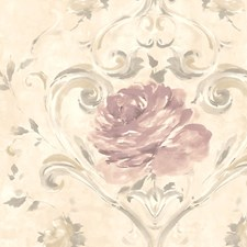 Neutral/Pink Wallcovering by Scalamandre Wallpaper