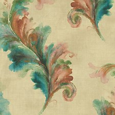 Green/Gold Wallcovering by Scalamandre Wallpaper
