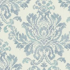 Blue/Green Wallcovering by Scalamandre Wallpaper