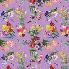 Orchid Wallcovering by Scalamandre Wallpaper