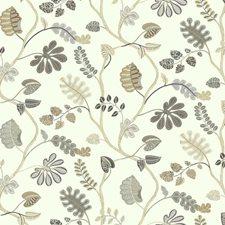 Cream/Beige/Ecru Botanical Wallcovering by York