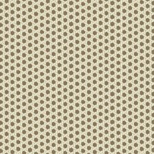 Brown/Cream/Gold Satin Geometric Wallcovering by York