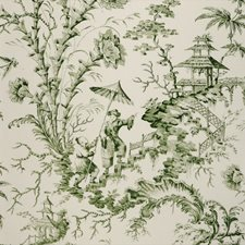 Fern Hand Printed Wallcovering by Scalamandre Wallpaper