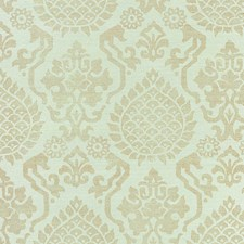 Burnished Gold On Mineral Wallcovering by Scalamandre Wallpaper
