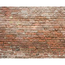 WR50503 Classic Brick Wall Mural by Brewster